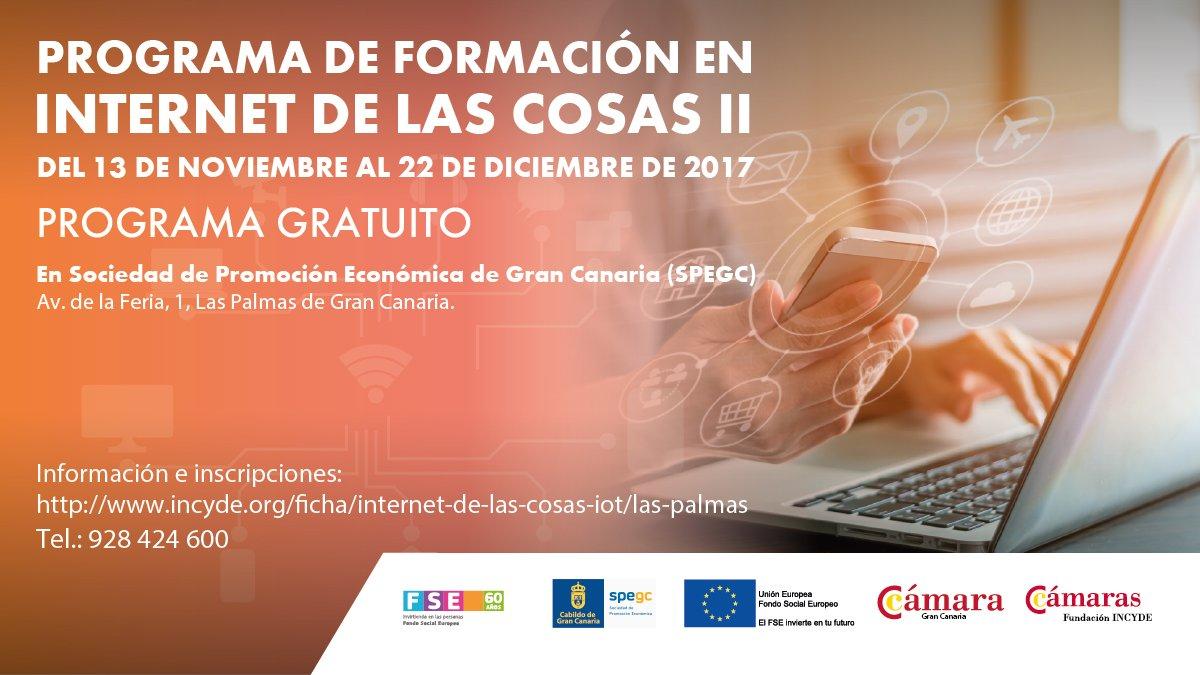 Programa de Formación en Internet de las Cosas II