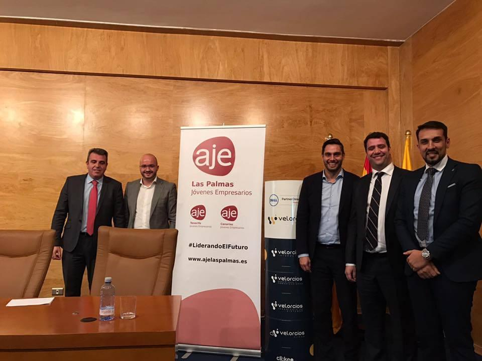 Entrega Premios AJE Canarias 2017
