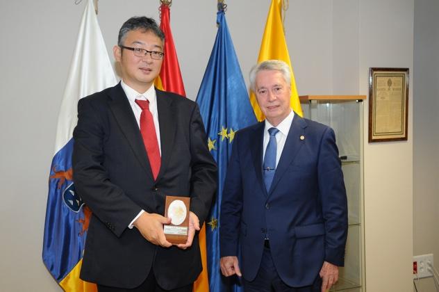 El Cónsul de Japón en la Cámara