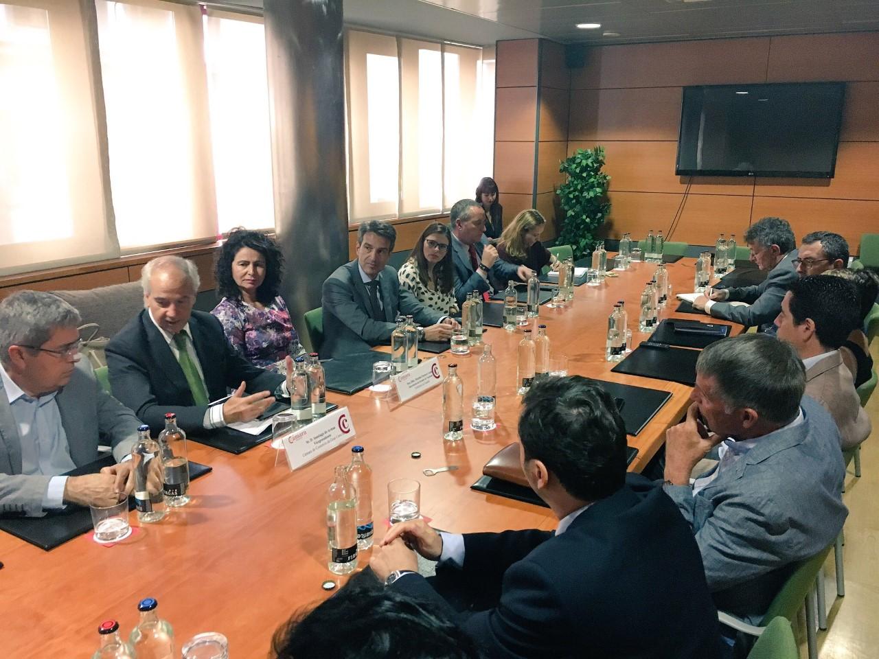 Matilde Asián en la Comisión de Turismo Cámara Gran Canaria