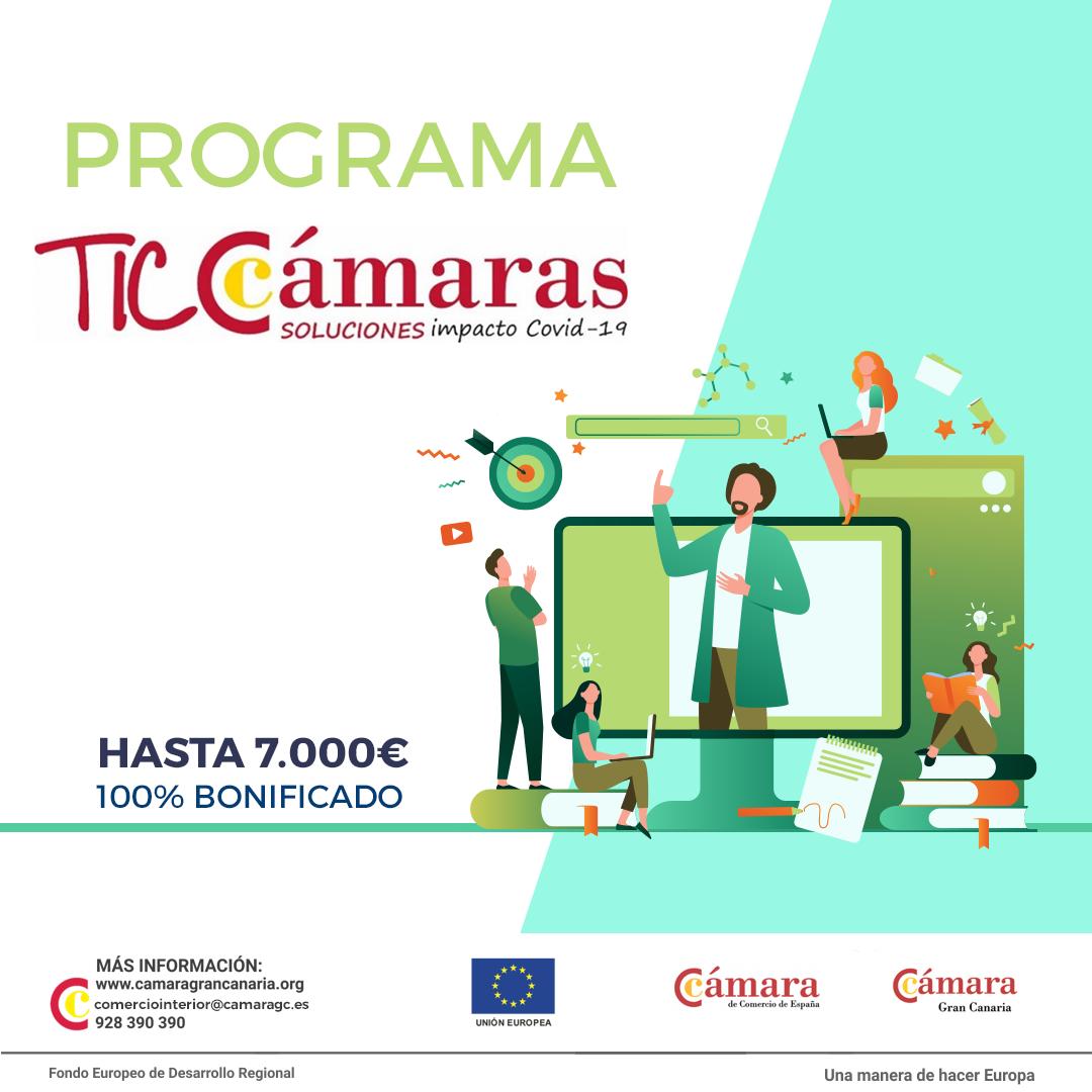 Convocatoria TIC CAMARAS 2020 - Cámara Gran Canaria.