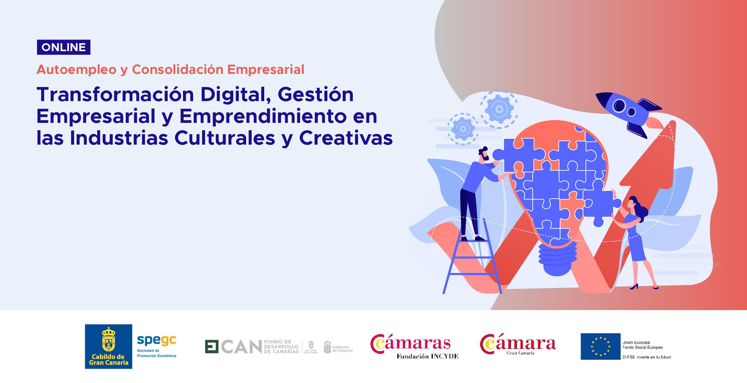Programa de Transformación Digital, Gestión Empresarial y Emprendimiento en las Industrias Culturales y Creativas