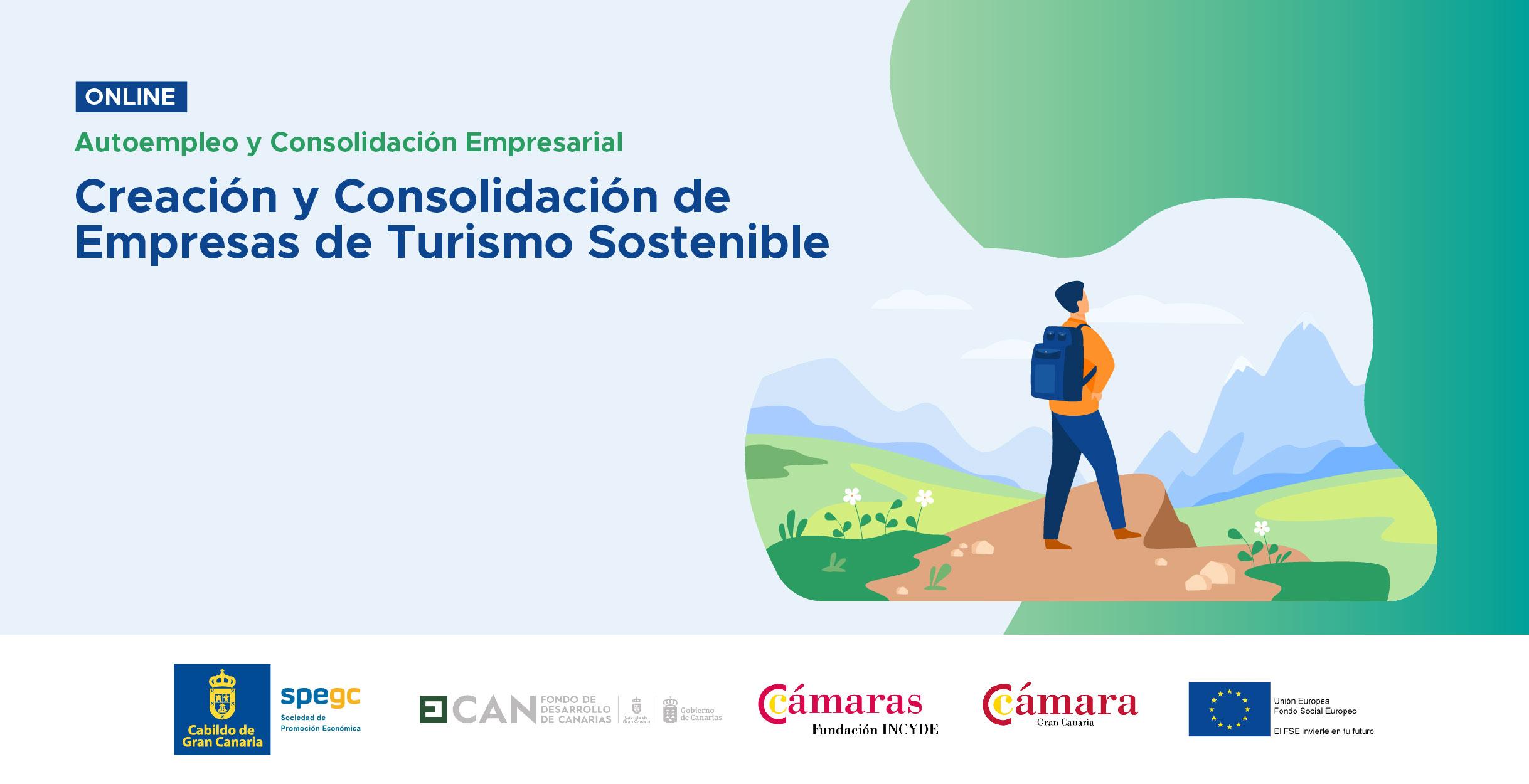 Programa de Creación y consolidación de empresas de Turismo Sostenible
