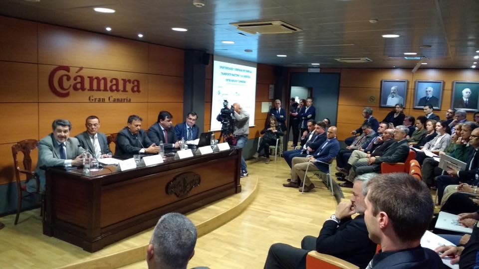 Misión Comercial de HuelvaPort y Puerto de Huelva en la Cámara.