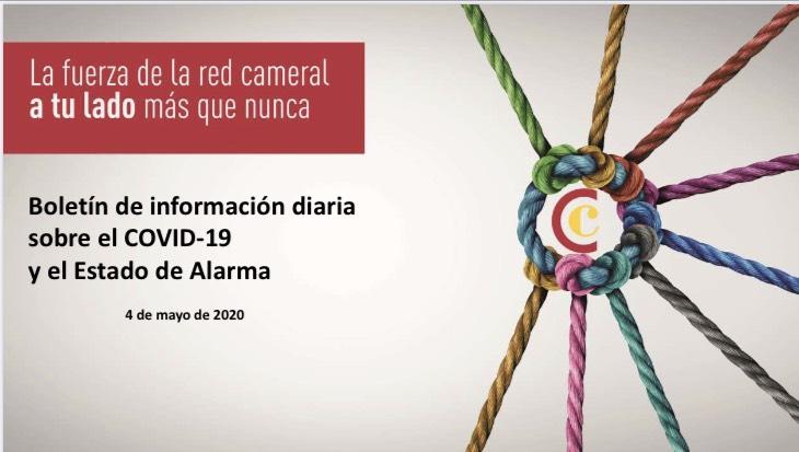 Boletín de Información diaria sobre el COVID-19 y del Estado de Alarma 04/05/2020