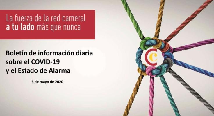 Boletín de Información diaria sobre el COVID-19 y del Estado de Alarma del 6/05/2020