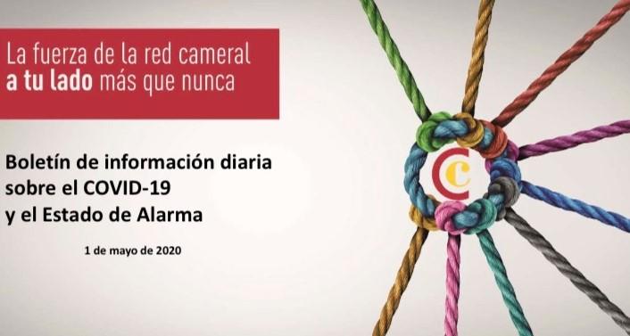 Boletín de Información diaria sobre el COVID-19 y el Estado de Alarma 1/05/2020