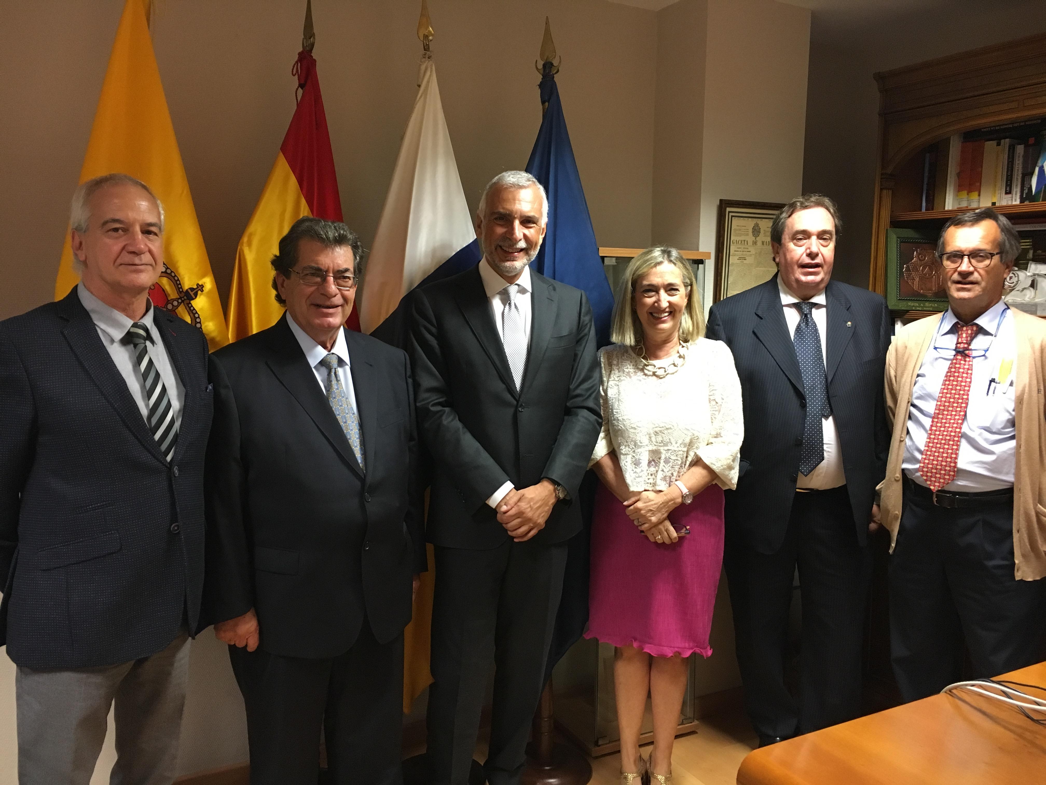 Embajador de Italia en España visita la Cámara