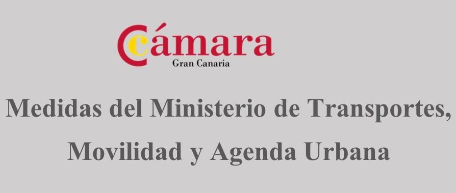 Medidas del Ministerio de Transporte, Movilidad y Agenda Urbana