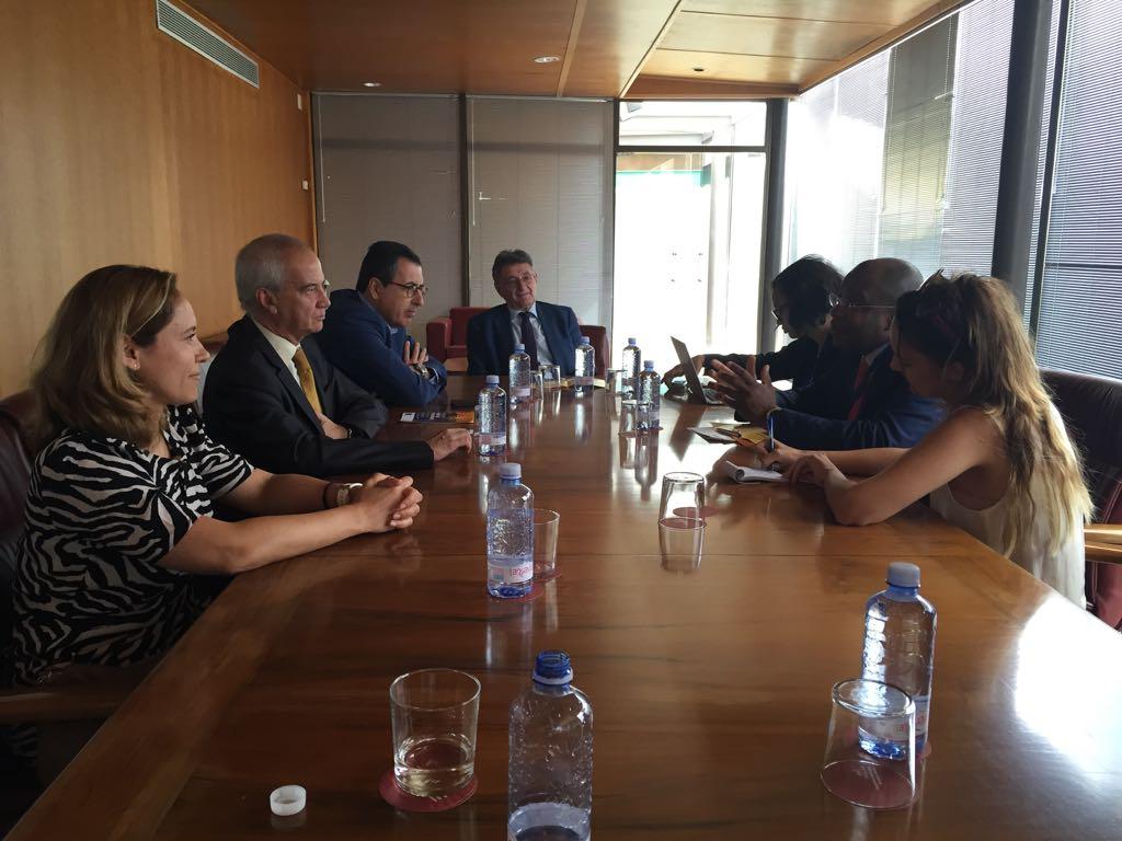 Reunión de la Comisión de Turismo con los Ministros  del sector de Gambia y Costa de Marfil.