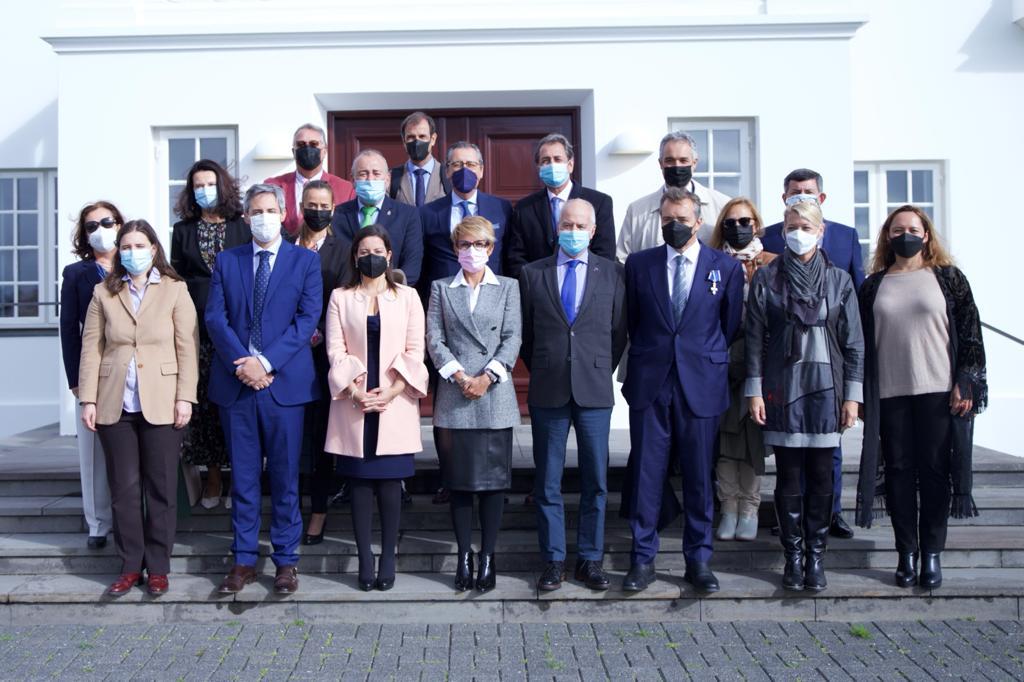 Delegación de la misión comercial de Islandia